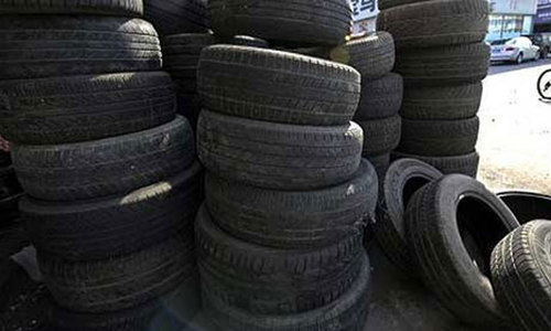 Tyre maker for stamping of goods 'in transit to Afghanistan'