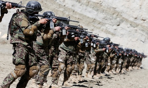 Afghan forces launch assault after Taliban offensive overshadows talks