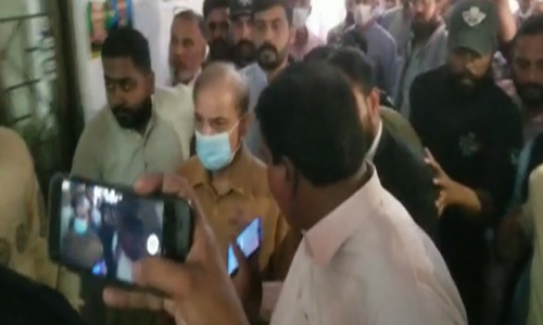 Shahbaz's physical remand to NAB extended for a week
