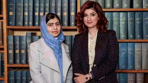 Twinkle Khanna breaks down in conversation with Malala Yousufzai