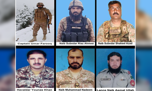 13 security personnel, 7 private guards martyred in two attacks in Ormara, North Waziristan