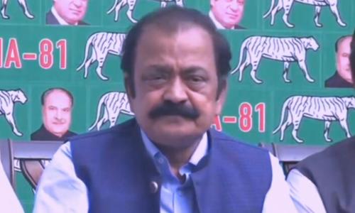 Govt bigger danger to country than Covid-19, says PML-N's Rana Sanaullah