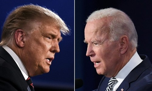 Biden could win, Trump ally says, as Covid hits race again