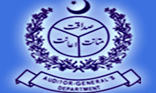 AGP blames finance ministry for irregularities worth Rs1.535tr