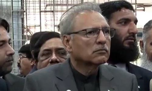Alvi asks people to observe SOPs for some more months