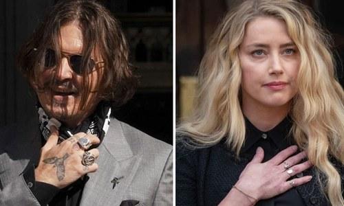 جونی ڈیپ کو سابق بیوی کے خلاف دائر مقدمے میں پیش ہونے کا حکم