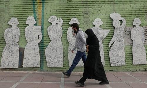 ایران میں ایک دن میں کورونا سے ریکارڈ 337 ہلاکتیں