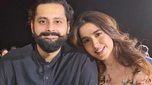 Inside Mansha Pasha's surprise birthday celebrations with Jibran Nasir
