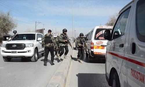 کراچی: شیریں جناح کالونی میں ریموٹ کنٹرول دھماکا، 5 افراد زخمی