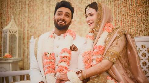 Sana Javed and Umair Jaswal have tied the knot