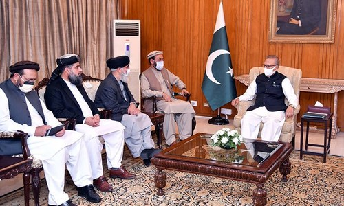 پاکستان مشکل وقت میں افغان بھائیوں کے ساتھ کھڑا ہے، صدر عارف علوی