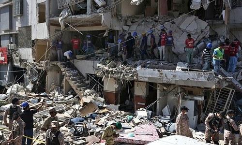 کراچی: گلشن اقبال میں مسکن چورنگی کے قریب دھماکا، 5 افراد جاں بحق
