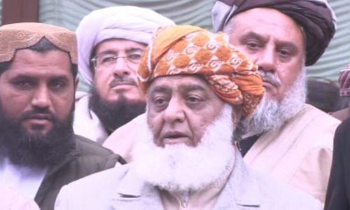 ملک میں غیراعلانیہ مارشل لا ہے، مولانا فضل الرحمٰن