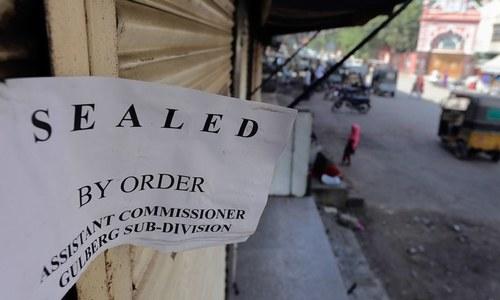 کورونا ایس او پیز نظر انداز کرنے پر 'سخت اقدامات' کا انتباہ