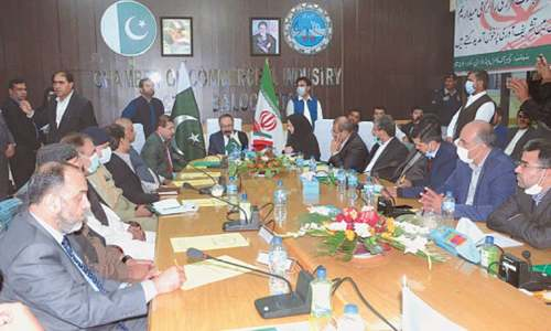 Need stressed for boosting Pak-Iran economic cooperation