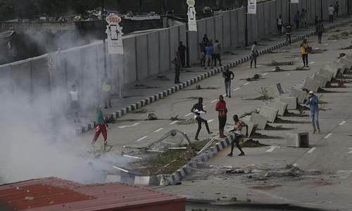 Nigeria in turmoil after police fire on demonstrators