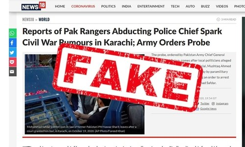 Ministers call on Twitter to take action against fake Indian media reports of 'civil war' in Karachi