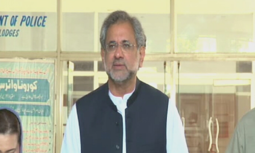 ISI, Rangers take orders from the PM, PML-N's Abbasi on Safdar's arrest