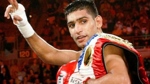 Amir Khan expressed a desire to join politics but then declined own offer himself