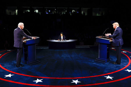 Trump and Biden clash sharply over pandemic, personal attacks in less chaotic final debate