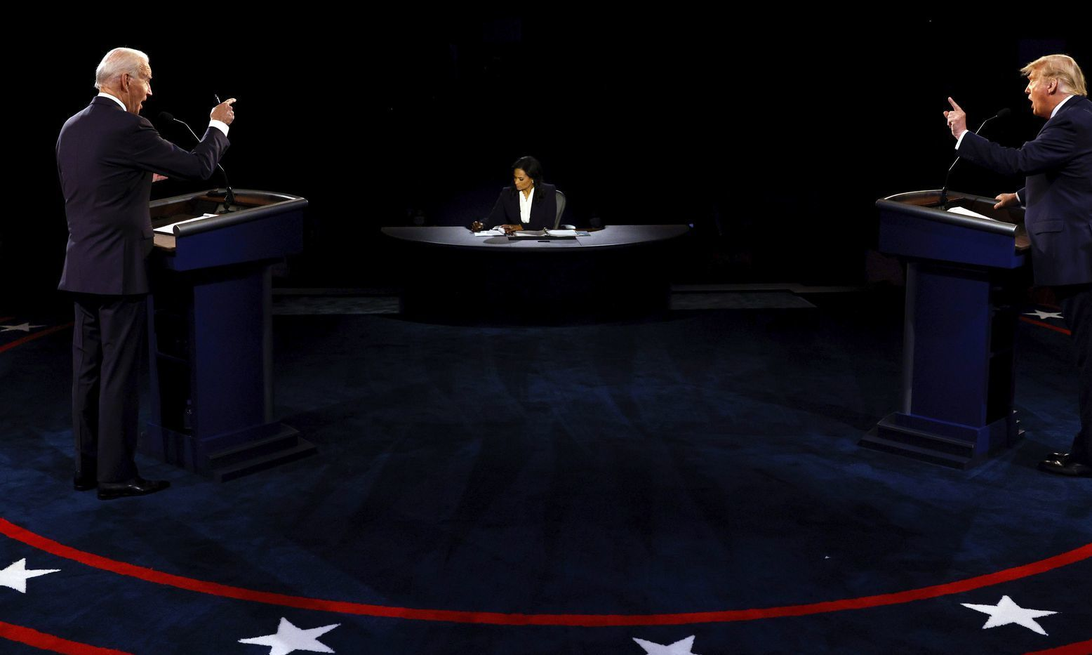 Less chaotic final Trump and Biden debate covers coronavirus, racism, personal attacks