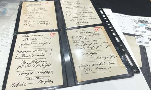 Hitler's speeches sell at Munich auction despite objections