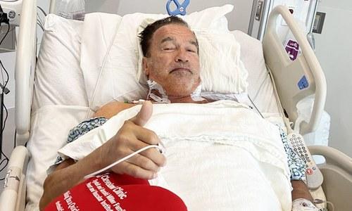 آرنلڈ شوازنگر کی دو سال بعد دوسری ہارٹ سرجری