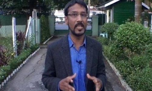 کراچی: جیو نیوز کے 'لاپتا' رپورٹر علی عمران سید گھر پہنچ گئے