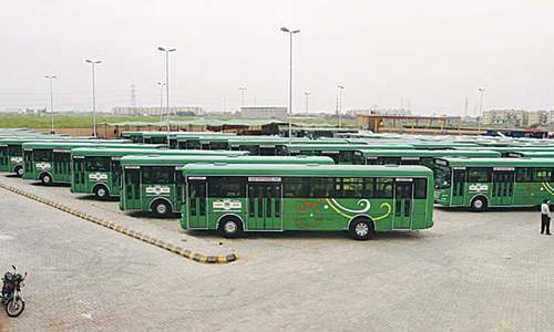 Probe sought into BRT buses' delivery before completion of civil work