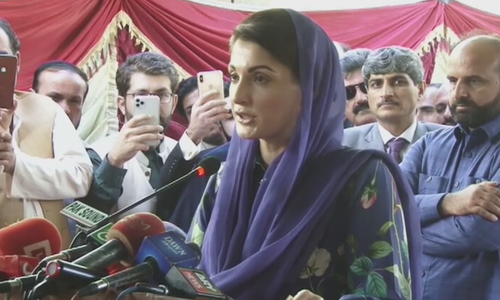 Nawaz's voice echoing across country despite ban on speeches: Maryam