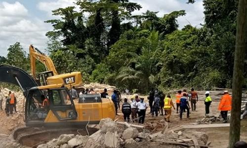 گھانا: زیر تعمیر چرچ گرنے سے 22 افراد ہلاک