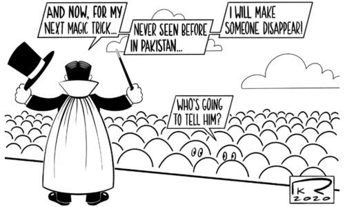 Cartoon: 25 October, 2020