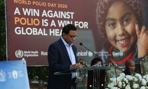 پاکستان پولیو سے پاک ہونے والا اگلا ملک بن سکتا ہے، عالمی ادارہ صحت