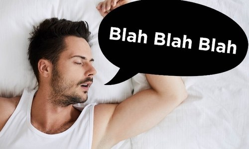 کچھ لوگ نیند میں باتیں کیوں کرتے ہیں؟