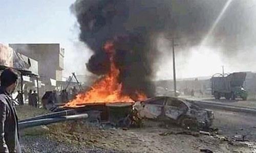 Three killed in motorbike blast in Quetta