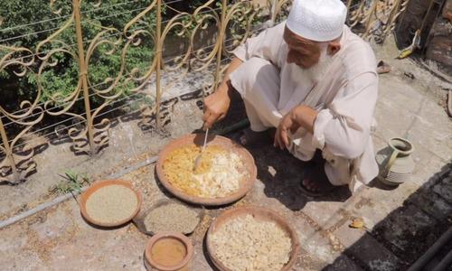 'پرندوں کی بھوک برداشت نہیں ہوئی، اس لیے ادھار لے کر انہیں کھانا دیا'