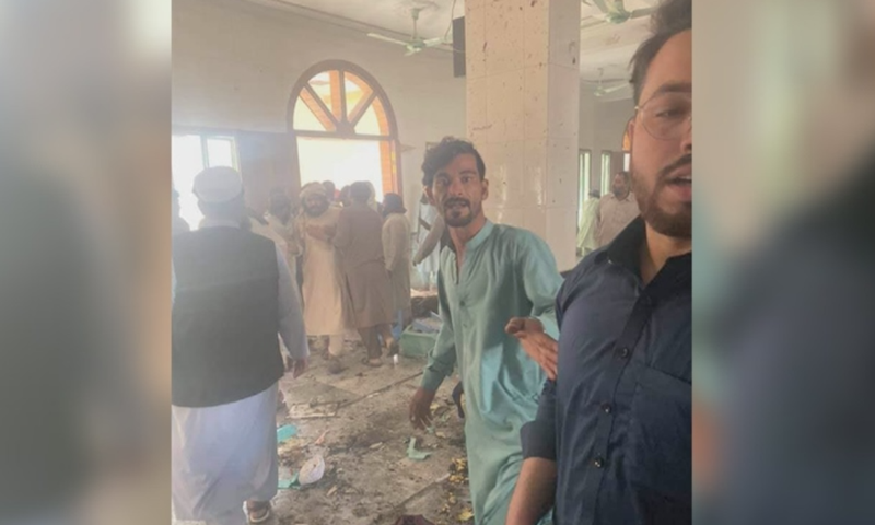 Blast reported at seminary in Peshawar's Dir Colony
