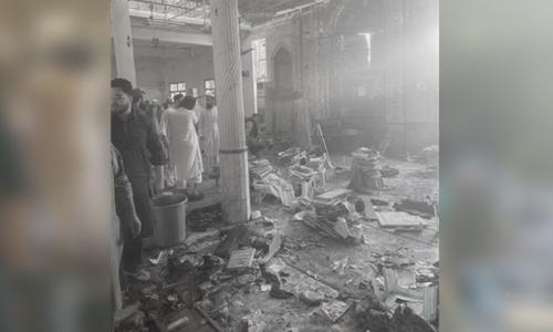 پشاور میں مدرسے میں دھماکا، 5 افراد جاں بحق