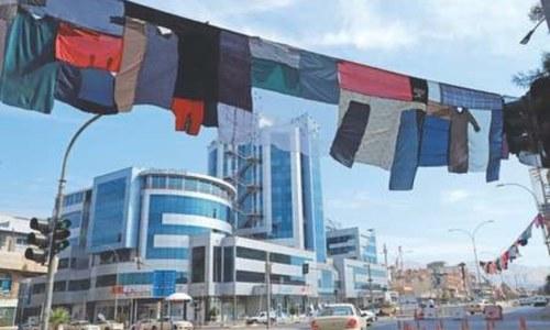 5-km-long artwork pays homage to abused Kurd women