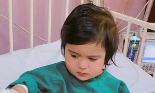 سعودی عرب: سینے سے باہر دل کے ساتھ پیدا ہونے والی بچی کی کامیاب سرجری