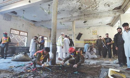 Bomb blast leaves eight madressah students dead