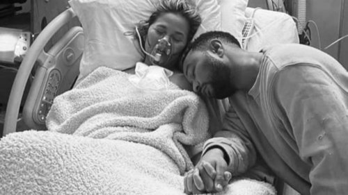 Chrissy Teigen pens heartbreaking essay on miscarriage
