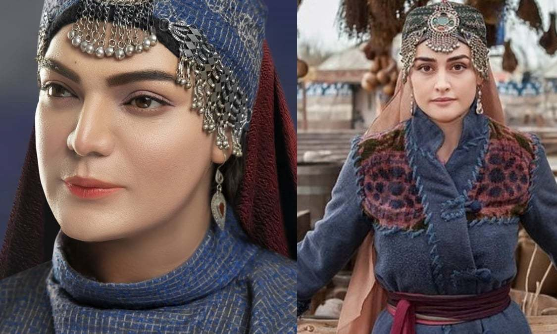 Makeup artist Shoaib Khan's tribute to Ertugrul's Halime Sultan will make your jaw drop