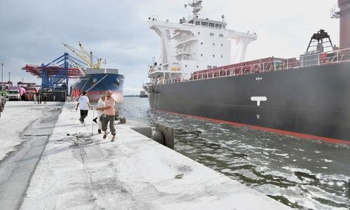 Wheat supply from ports resumes