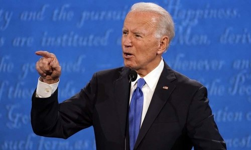 The next US president: Joe Biden