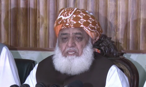 Fazl rejects dialogue with govt, demands fresh election