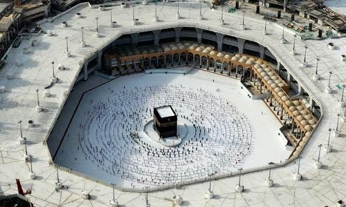 Saudi rams car into Makkah's Grand Mosque