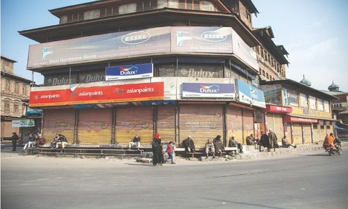Occupied Kashmir shuts down in protest against land laws