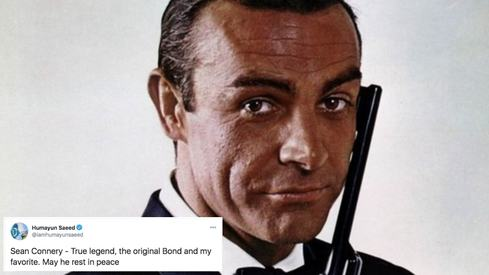 Celebrities pay tribute to James Bond Sean Connery