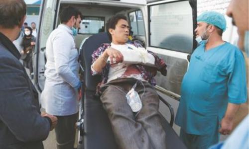 IS attack on Kabul varsity kills 22